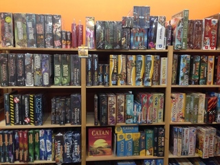 Bookstore specializing in board games