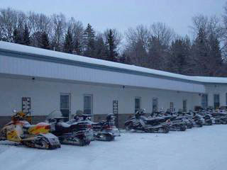 Snowmobile friendly accommodation