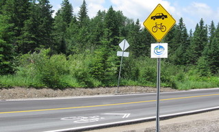 cycling routes in North Western Quebec