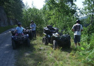ATVing in Northern Ontario