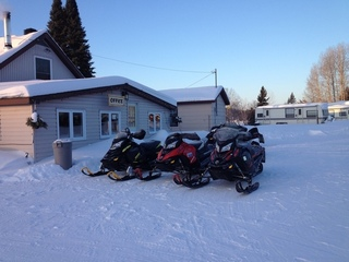 Snowmobiling in the Temiskaming region