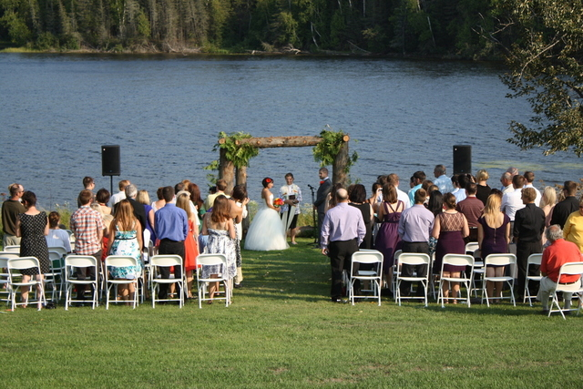 Destination wedding in NOrthern Ontario