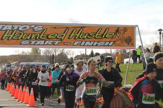 STATO's Haunted Hustle - 5K/10K/Half & Full Marathon (Boston Qualifier), & The Greyt Relay 4 Person Team Event