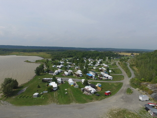 Camping park on Lake Temiskaming