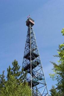 Temagami's Fire Tower on Caribou Mountain