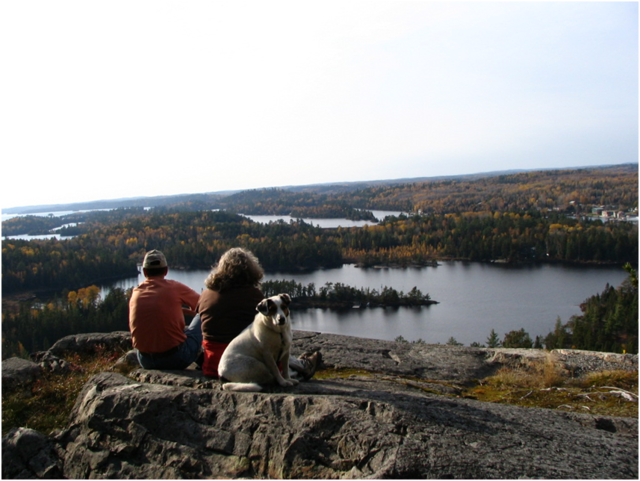 Hiking in Temagami