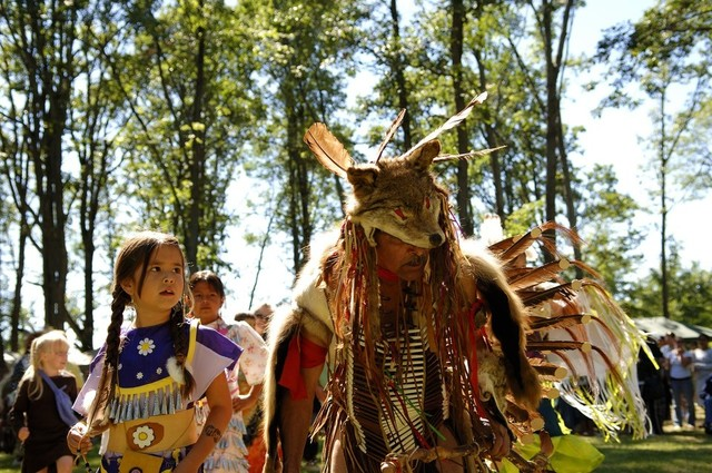 Nippissing First nation pow wow