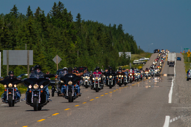 Bikers Reunion, Temiskaming Shores, Motorcycle
