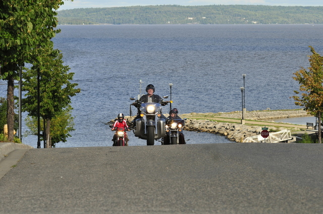 Motorcyble, Lake Temiskaming